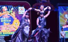 Наши на арене: как таджик создал цирковую группу в Китае