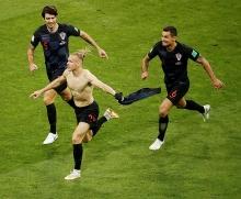 Хорватский футболист выкрикнул «Слава Украине!» после победы над российской сборной. ФИФА его предупредила