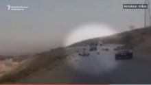 Момент нападения на туристов сняли на видео. Наезд был намеренным