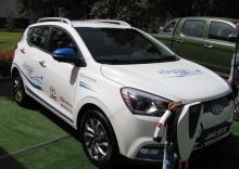 На выставке «Таджикистан-2018» представлены новейшие автомашины