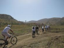 Память погибших в Дангаре туристов почтили велогонкой