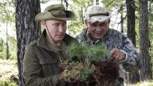 Путин устроил себе выходные на Енисее