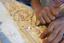Багдади: как таджики делают шедевры из дерева
