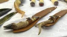 Уникальные по форме и узору: как студент из Худжанда изготавливает 150 разновидностей ножей