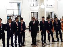 Серебро как золото: Таджикистан встретил героев Чемпионата Азии