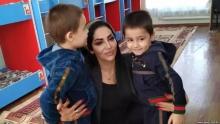 Шабнами Сурайё отметила свой день рождения в детском доме