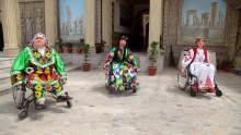 Танцующие на колясках: как инвалиды из Таджикистана создали свой хореографический коллектив