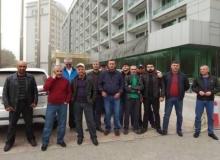 Неформальные лидеры ГБАО в Душанбе. Они путешествуют по Таджикистану