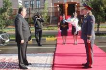 Таджикским милиционерам ко Дню милиции подарили не только новое здание, но и звания