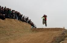 Большие гонки на холмах Мехробода: как прошел чемпионат Таджикистана по мотокроссу