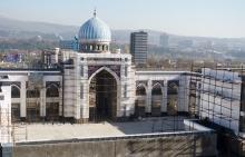 Самая большая мечеть в Центральной Азии откроется в августе