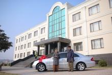 Mercedes Benz от «ИМОН ИНТЕРНЕШНЛ» уехал в Бохтар