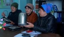 Женщина-электрик, или Как сельских женщин Согда учат зарабатывать деньги?