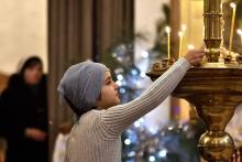 Православные Таджикистана отмечают Рождество