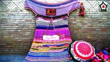 Зачем жительница Канибадама связала платье длиной 5 метров?