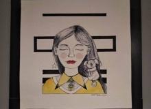 В Душанбе проходит выставка «Нераскрытая графика»