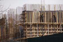 Как в Таджикистане НЕ соблюдается техника безопасности на стройках