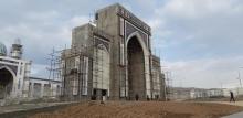 Строители мечети в Душанбе: Тут не помогли бы даже страховочные пояса