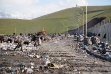 Как управлять самым большим мусорным полигоном в Таджикистане