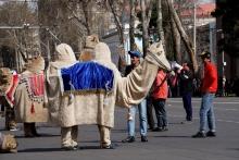 Кому лошадки, а кому верблюды: Студенты готовятся к Наврузу