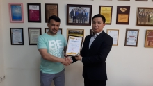 Казкоммерцбанк Таджикистан подвёл итоги акции «Открой Европу с Mastercard». Победителя ждет тур по странам Европы