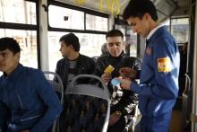 В троллейбусах и автобусах Душанбе работают контролёры