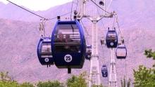 200 посетителей в день: канатная дорога Худжанда стала любимым местом отдыха