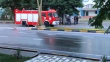 В Душанбе прогремело два взрыва. Горит строящееся здание (ОБНОВЛЕНО)
