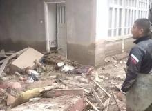 В Канибадаме селевой поток разрушил кладбище и дома жителей
