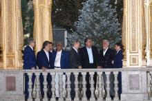 Эмомали Рахмон устроил вечер дружбы для участников саммита СВМДА