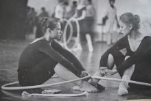 Таджикские гимнастки поднимают авторитет страны за свой счет