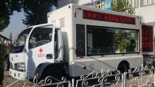 Китай передал КЧС Таджикистана технику на 6 миллионов долларов