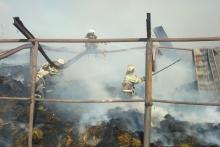 Пожарные на страже душанбинцев. Кто и как нас спасает от огня?