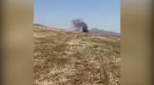 Трагедия в Фахрабаде: кадры с места крушения самолета АН-2