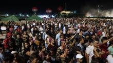 Как зажигали на Летнем фестивале Мансур, Шабнам и Нобовар