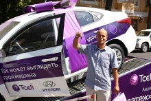Благодаря акции «Удачный платеж» от Tcell еще один таджикистанец стал обладателем автомобиля
