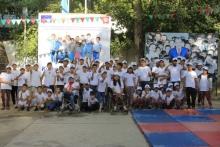Летний лагерь «Баркчиён» принял 47 детей с особенностями развития