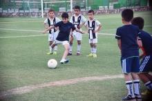 Как внук президента в футбол играл