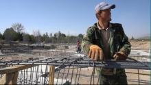 Как строят самый большой стадион в Таджикистане