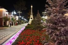 Три парка за вечер. Эмомали Рахмон открыл в Кулябе три парка и сквер