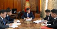 Жээнбеков провел совещание по ситуации на кыргызско-таджикской границе