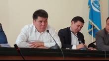Участники акции протеста в Бишкеке получили ответы на вопросы по таджикско-кыргызской границе