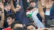 Флаги на лице и бурные эмоции. Как таджикистанцы болели за свою сборную?