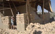 В Душанбе чиновники разрушили дом, признанный незаконной постройкой