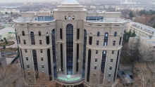 Rahmon inaugurates new head office of Tajikistan's savings bank