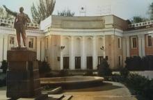 Исчезнувшие памятники советской эпохи в Душанбе