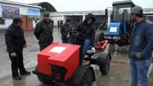 На юге Таджикистана изобрели новый трактор