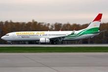 Самолет с таджикистанцами из Уханя на борту приземлился на военном аэродроме Айни