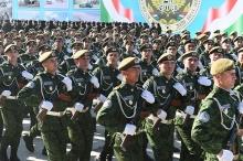 Как прошел военный парад таджикской армии