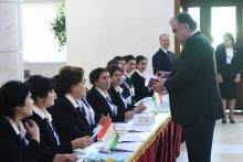 Президент Таджикистана проголосовал в избирательном округе №2